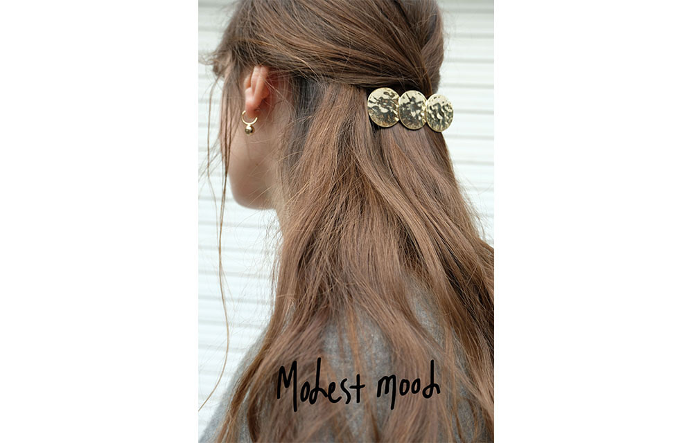 Antique Gold Barrette