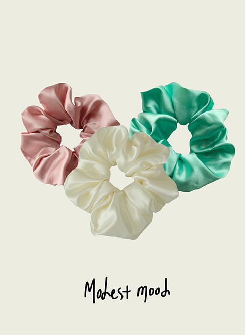 Mood Scrunchies ˚3 color